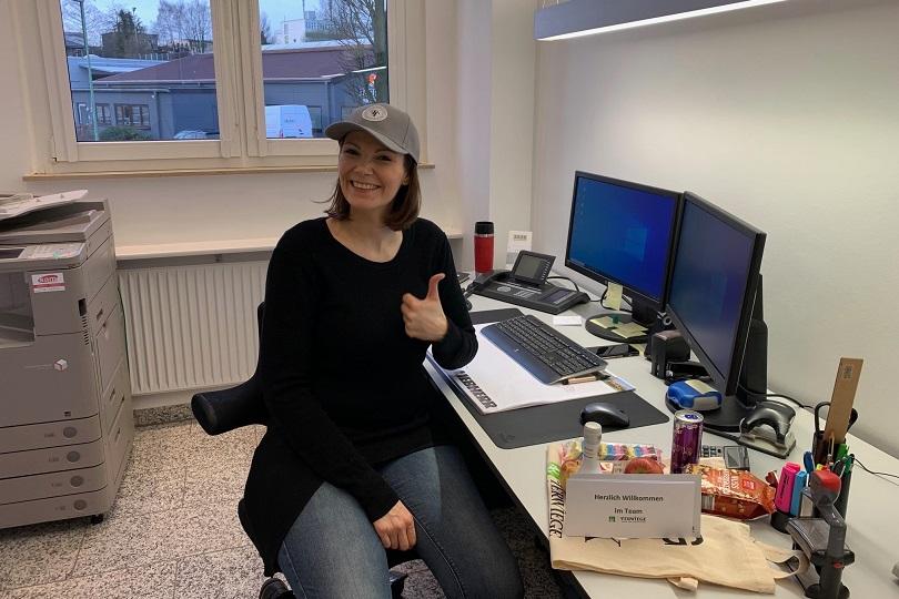 Vanessa Mühlnickel im Terwiege-Büro